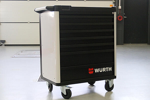 Würth verktøyvogn medium
